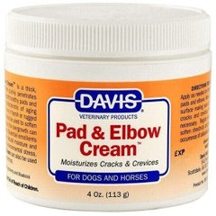 Davis Veterinary PAD & ELBOW Cream - заживляющий крем для лап и локтей собак и лошадей - 113 мл