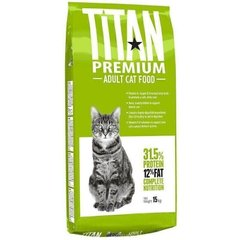 Chicopee TITAN PREMIUM Adult Cat Food - корм для кошек (птица) %